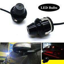 Pair LED Car Rearview Mirror Projection Lamp Door Welcome Light Ground Lighting