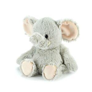 Microwavable Heat Packs Cozy Plush Soft Cuddly Toy Grey Elephant