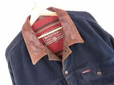 R587 MARLBORO CLASSICS DENIM-STYLE JACKET ORIGINAL MADE IN ITALY VINTAGE size XL