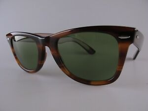 Vintage B&L Ray Ban Wayfarer Sunglasses 40 Years Special Edition Made in USA