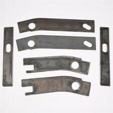 6pc Frame Repair Rusted Shackle Weld Plates Patch Rear 86-95 Jeep Wrangler YJ
