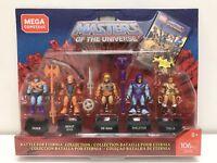 Mega Construx Masters Of The Universe 5 He-Man Skeletor Teela Faker Beast GDV86
