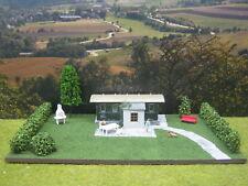 Wohnwaggon mit LED Modellbau Landschaftsbau Diorama H0 1:87 #105