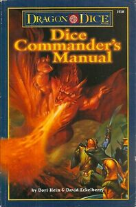 DRAGON DICE COMMANDER'S MANUAL - COMPLETE WITH 160 CARDS - NM - TSR #1518
