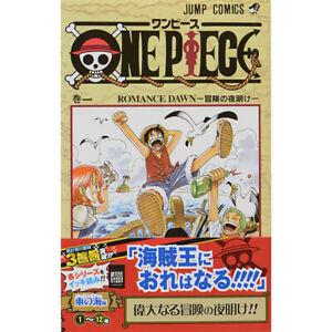 ONE PIECE Comic Book Vol.1 NEW Eiichiro Oda Japanese Jump Manga <FREE Ship>