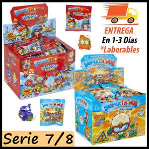 Superthings Serie 7 y 8 Caja 50 Sobres Kazoom Kids Power Machines Superzings