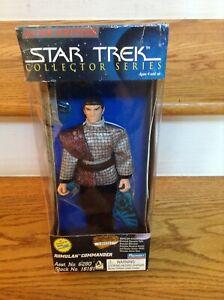 "Vintage Star Trek Romulan Commander 9 "" Action Figure NIB Playmates 1996"
