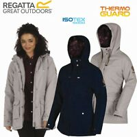 Regatta Brienna Womens Waterproof Jacket Green