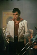 Elvis Presley Dancing in Bar Scene, White Jacket, Trombone Slide --- Postcard