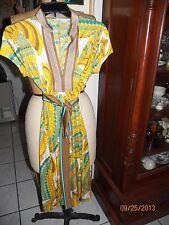 trina turk LA geometric dress size 6 small s approx 18in bust