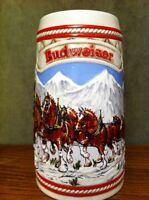Anheuser Busch Budweiser Nat. Historical A Series BEER STEIN Clydesdales 1985