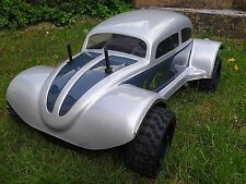 1:6 4 WD Carbon Fighter -Beetle Karosserie neu rs 535 Weiss o Schwarz fg,Carson