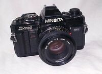 MINOLTA X-700 Camera - 35MM SLR Film Camera with Lens - UNTESTED