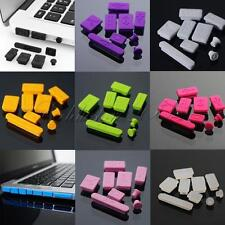 """Universal Silicone Anti-dust Plugs Cover Set For Laptop Apple Macbook Pro 13""""15"""""""