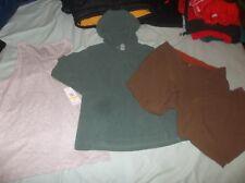 LOT of 3 REI Fleece Hoodie Jacket & Outdoor Research Pants Speedo Tank Top Shirt