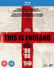 This Is England (Complete TV Series '86-'90) NEW Cult Blu-Ray 3-Disc Set A.Ellis