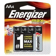 Energizer Alkaline Batteries AA 4 ea