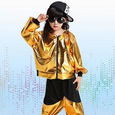 Bright Boys Modern Jazz dance Outfits Kids Performance Hip Hop Dance Costumes