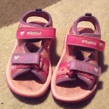 Clarks Baby Shoes with Hook & Loop Fasteners Sandals