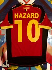 Rare Burda Sport Authentic Belgium Hazard 10 Football Soccer Jersey Small