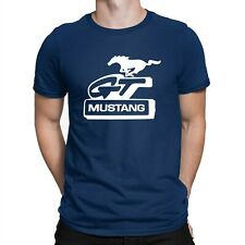 Ford Mustang GT T-shirt Classic Car Motorsport Enthusiast Mens Xmas Birthday Top