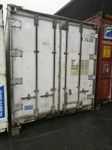 12 Meter Container Lagercontainer Überseecontainer Seecontainer 40 Fuß isoliert