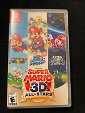 Super Mario 3D All-Stars (Physical Copy) Nintendo Switch Lightly Used
