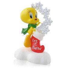 Hallmark Ornament 2014 Looney Tunes Tweety Bird Weady for Christmas