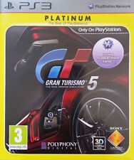 Gran Turismo 5 -- Platinum (Sony PlayStation 3, 2011) - European Version