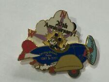 Disney 20th Anniversary Pin Serving Orlando Mickey Plane