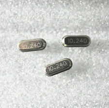 10pcs New 10.24MHz 10.240Mhz 10.24M Hz Crystal Oscillator HC-49S