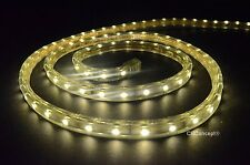 CBConcept® UL Listed,100 Feet,10100 Lumen,Warm White 3000K,120V LED Strip Rope