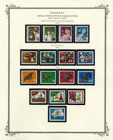 Germany Mint Semi-Postal Stamp Collection
