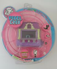 Pixel Chix purple house in box