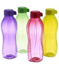 Tupperware Aquasafe Regular Screw Water Bottle Set of 4, 500 ML