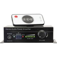 Remote Audio Amplifiers