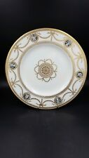 Vintage Wedgewood China England with Black Figure Cameos and Heavy Gold Trim