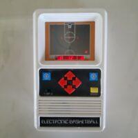 1978 Mattel Hand Held Electronic Tabletop Basketball Arcade Game