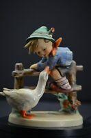 Hummel Figurine Barnyard Hero 195 1 TMK 5