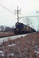 CSS&SB SOUTH SHORE Railroad Train Locomotives OGDEN DUNES 1975 Photo Slide