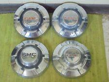 "69-75 GMC 3/4 1 Ton Dog Dish HUBCAPS 12"" Set of 4 Pickup Truck 16 16.5"" C25 C35"