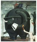 Celebes 1921 Max Ernst Famous Classical Great Art Painting Poster Print 24x36