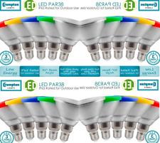 Crompton Color 13 W LED Par 38 Amarillo Azul Verde Rojo ES-E27 3YR Garantía