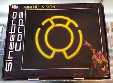 DC Direct Sinestro Corps Mini Neon Sign NEW