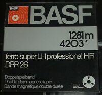 """BASF DPR 26 LH Reel to Reel Tape, DP, 7"""" Metal Reel, 2400 ft, Refurbished"""