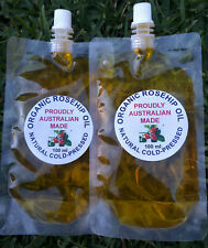 CHEAPEST, Organic 100% Pure ROSEHIP Oil (FREE ALMOND SWEET OIL, from 100ml–500ml
