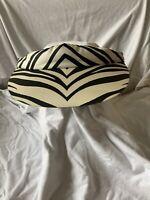 Vintage Zebra Visor Unisex