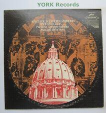 S-60187 - PALESTRINA - Missa Papae Mrcelli / Missa Brevis - Ex Con LP Record