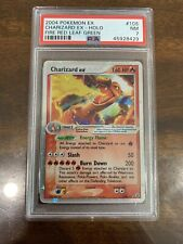 PSA 7 Pokemon CHARIZARD EX Card FIRE RED& LEAF GREEN Set 105/112 Holo WOW!!