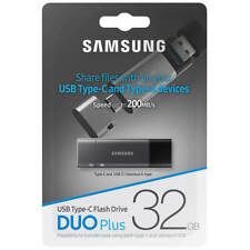 Samsung Duo Plus 32GB USB 3.1 200MB/s Type-C to Type-A OTG Flash Drive MUF-32DB